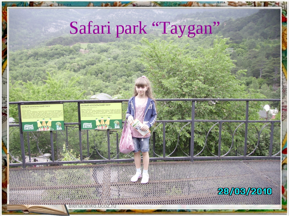 "Safari park ""Taygan"""
