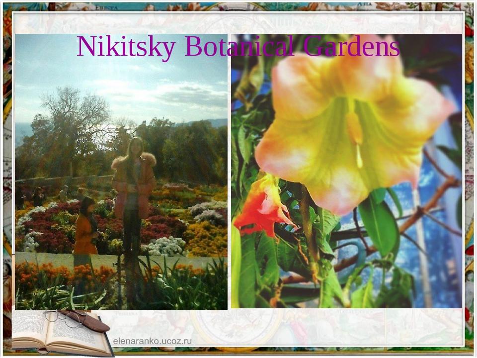 Nikitsky Botanical Gardens