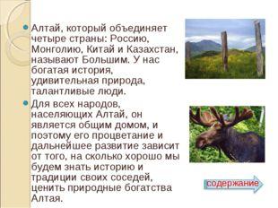 Алтай, который объединяет четыре страны: Россию, Монголию, Китай и Казахстан