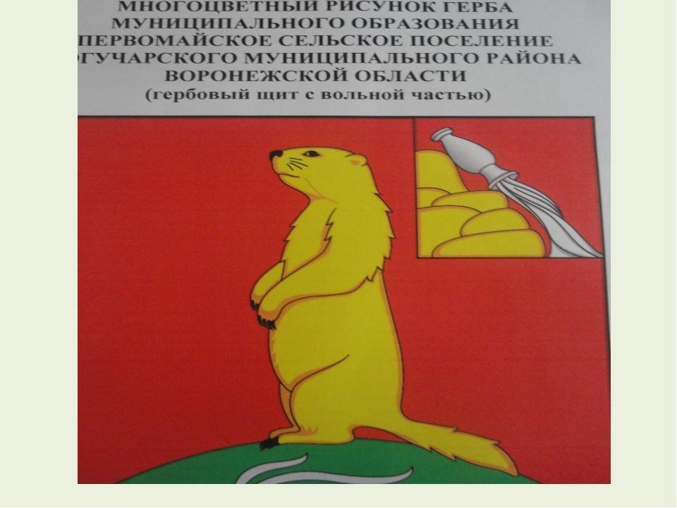 Герб Первомайского сельского поселения.