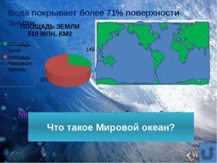 ТИХИЙ ОКЕАН – САМЫЙ БОЛЬШОЙ И САМЫЙ ГЛУБОКИЙ ОКЕАН 1 8 7 6 5 4 3 2 9
