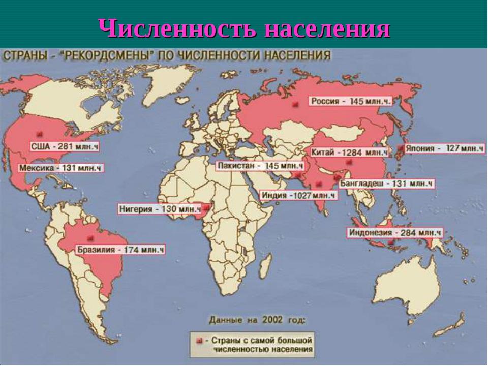 Карта россии с другими странами