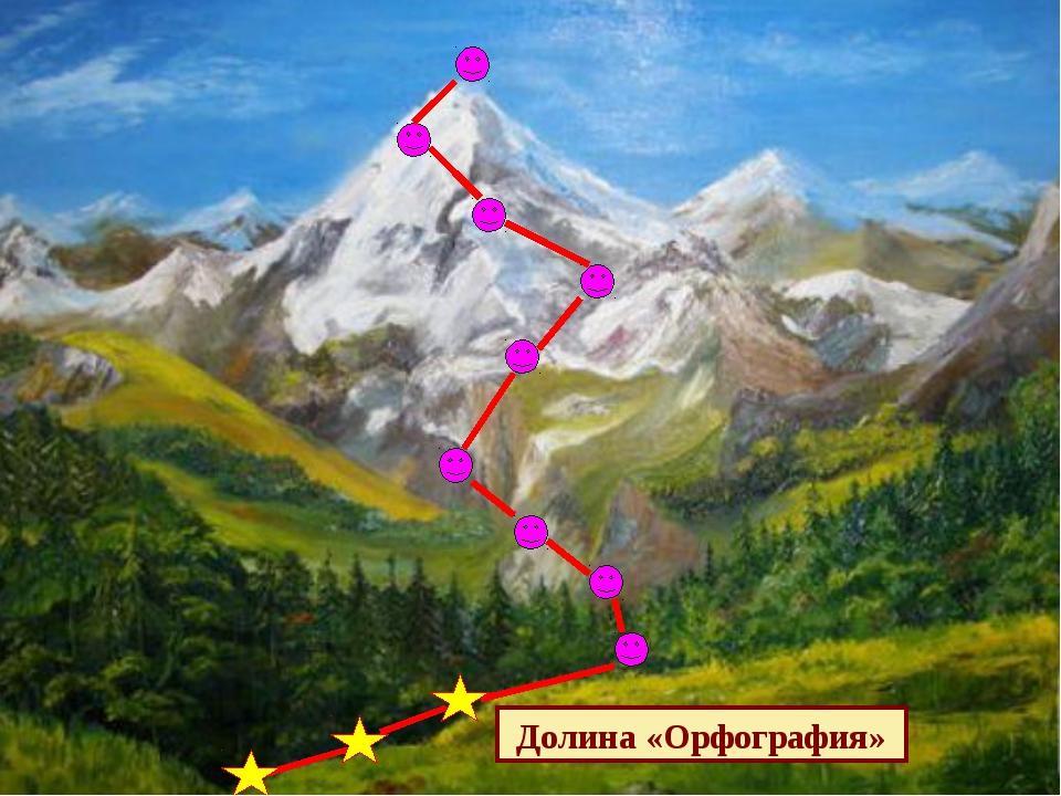 Долина «Орфография»