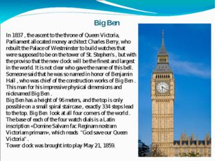 In 1837 , the ascent to the throne of Queen Victoria, Parliament allocated mo
