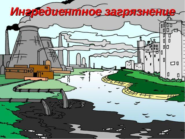 Ингредиентное загрязнение