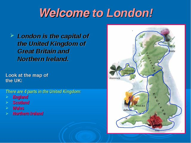 Welcome to London! Lоndоn is thе cаpitаl оf thе Unitеd Kingdоm оf Grеаt Britа...