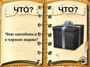 ЧТО? ЧТО? Что находится в черном ящике?