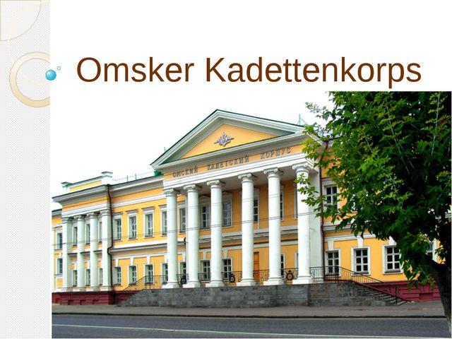 Omsker Kadettenkorps