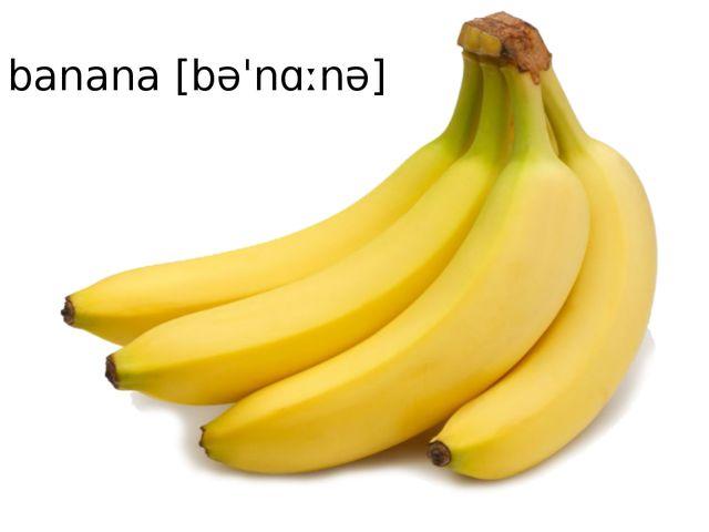 banana[bəˈnɑːnə]