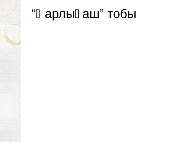 """""""Қарлығаш"""" тобы"""