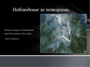 Наблюдение за пожарами. Лесные пожары в Хабаровском крае (29 августа 2012 год