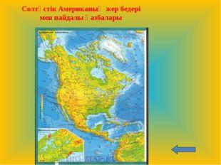 Солтүстік Американың жер бедері мен пайдалы қазбалары