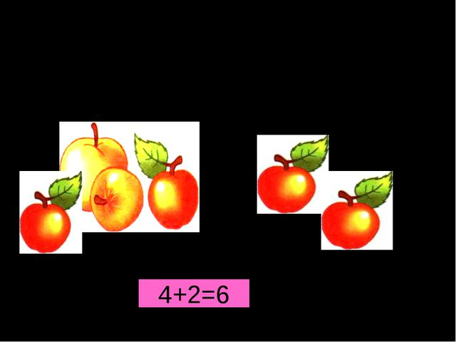 + 4+2=6