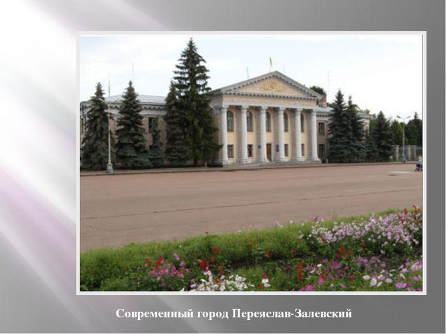 Современный город Переяслав-Залевский