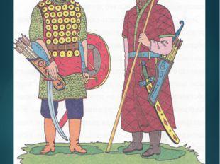 Молодые и сильные воины, которые назывались дружинниками, защищали свой посёл