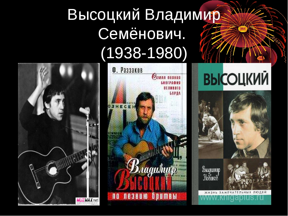 Высоцкий Владимир Семёнович. (1938-1980)