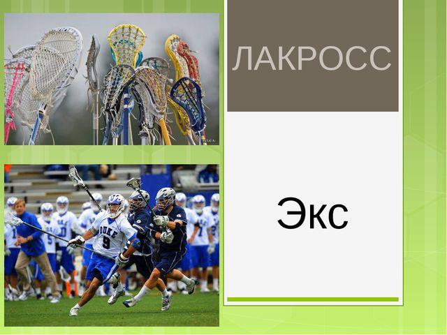 ЛАКРОСС Экс
