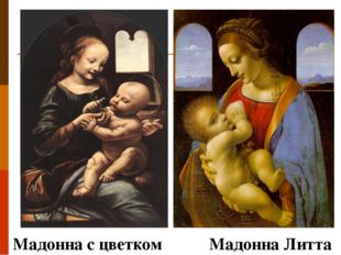 Мадонна с цветком Мадонна Литта