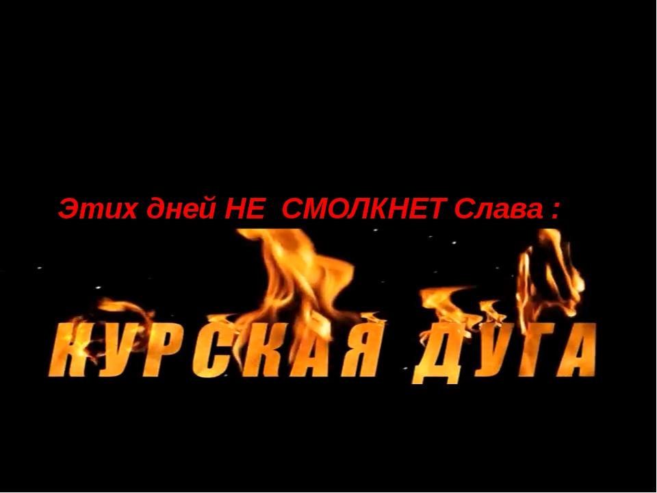 Этих дней НЕ СМОЛКНЕТ Слава : Выполнили: Рябчикова Дарья 8 «Б» класс Рыбаков...