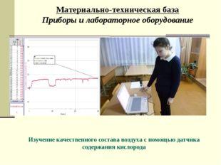 Материально-техническая база Приборы и лабораторное оборудование Изучение кач