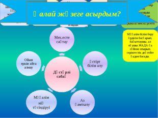 Бағалау шкаласы; 5-8 балл –« 5», 4-5 балл –« 4», 2-3 балл – «3», Оқушылар кри