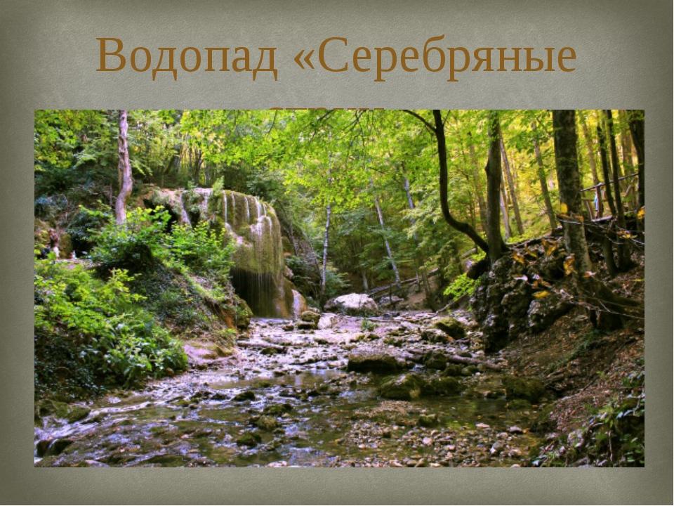 Водопад «Серебряные струи» 