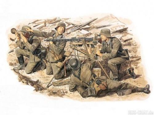 Вторая мировая война в картинках и рисунках (30 работ)