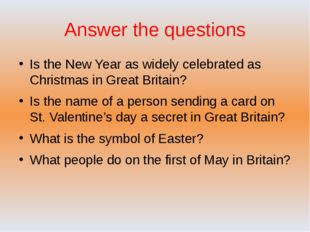 Answer the questions Is the New Year as widely celebrated as Christmas in Gre
