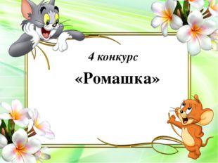 «Ромашка» 4 конкурс