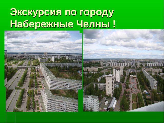 Экскурсия по городу Набережные Челны !