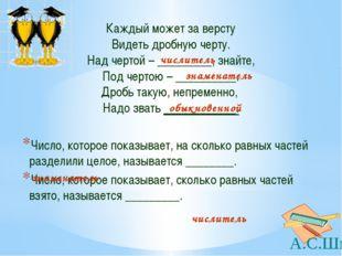 Сократите дробь: А.С.Шмыр