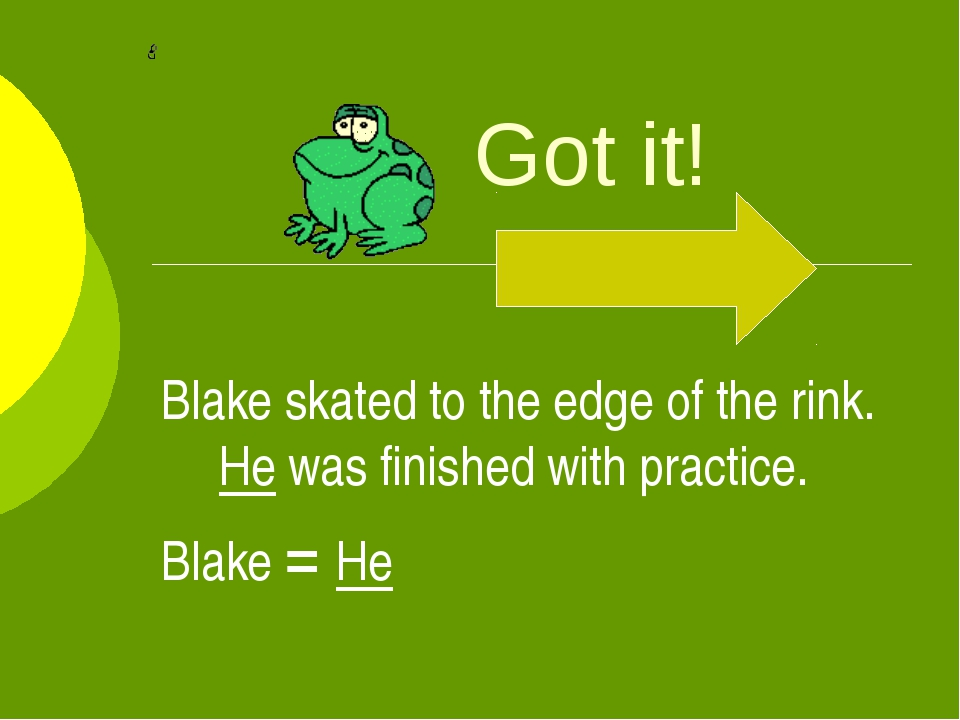 Got it! Blake skated to the edge of the rink. He was finished with practice....