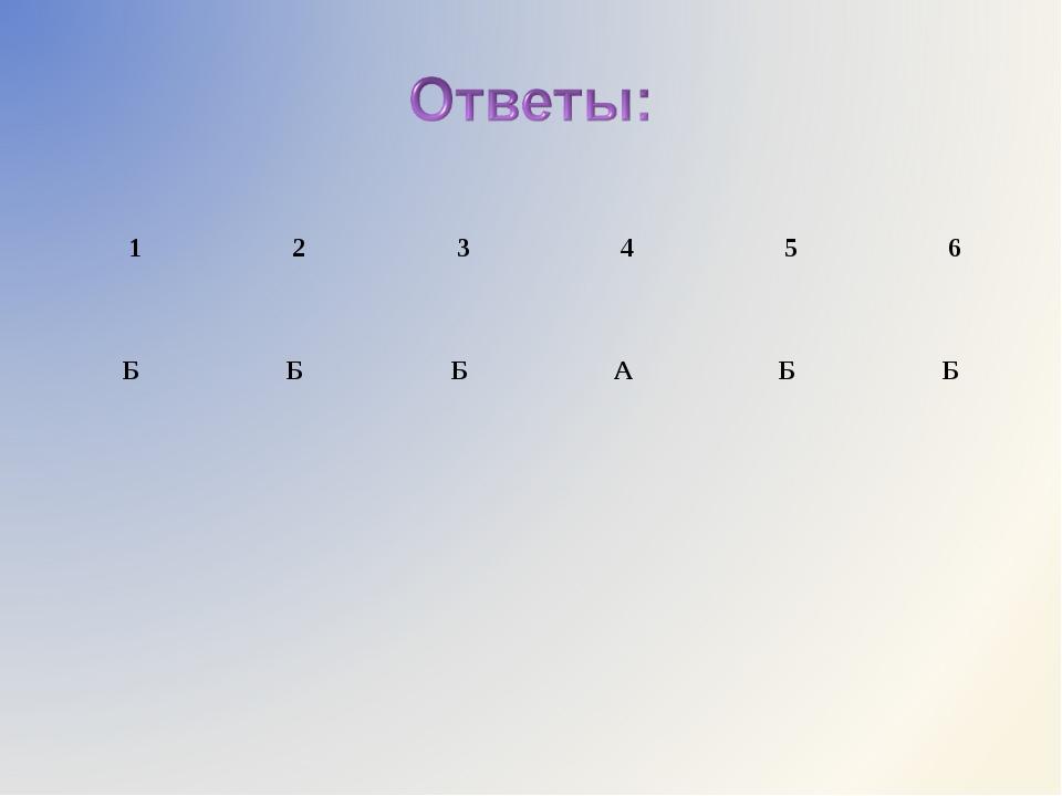 123456 Б Б Б А Б Б