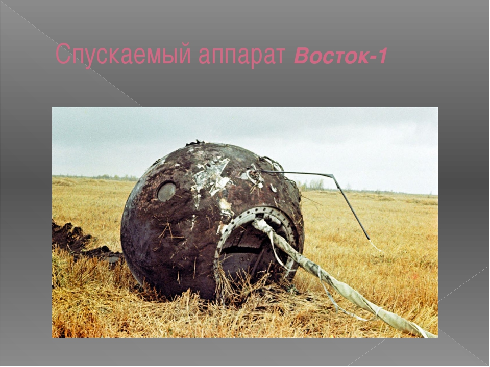 Спускаемый аппарат Восток-1
