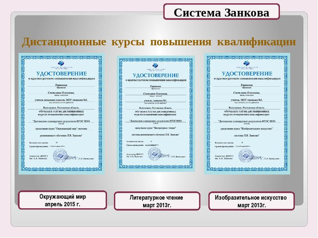 Дистанционные курсы повышения квалификации Окружающий мир апрель 2015 г. Лите...