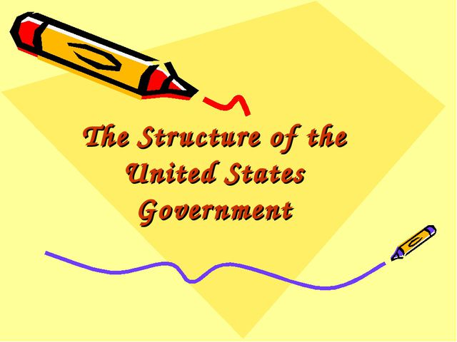 The Structure of the United States Government