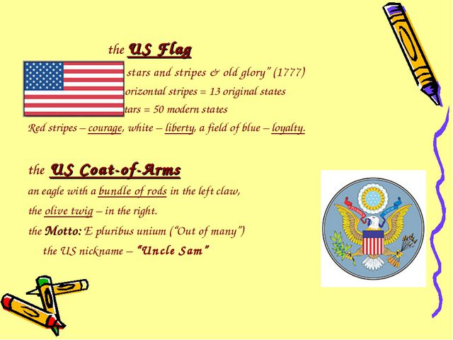 "the US Flag ""the stars and stripes & old glory"" (1777) 13 horizontal stripes..."