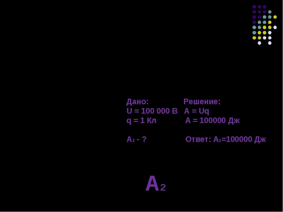 Дано: Решение: m = 1000 кг А = mgh h = 10 м А = 100000 Дж А1 - ? Ответ: А1=10...