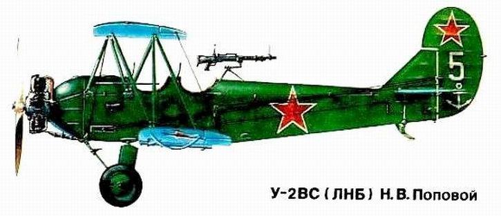 По-2 Надежды Поповой