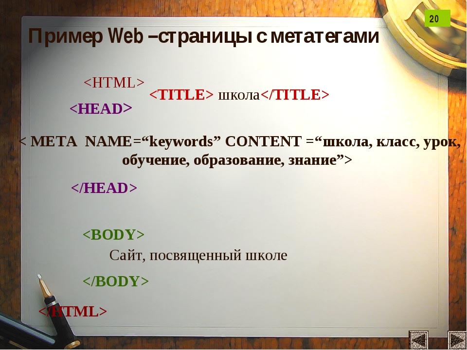 """школа      Сайт, посвященный школе < META NAME=""""keywords"""" CONTENT =""""школа,..."""