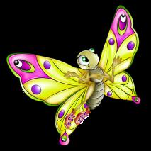 Клипарты: Клипарт с бабочками на прозрачном фоне - скачать растровый клипарт, фотоклипарт (png) на прозрачном фоне бесплатно