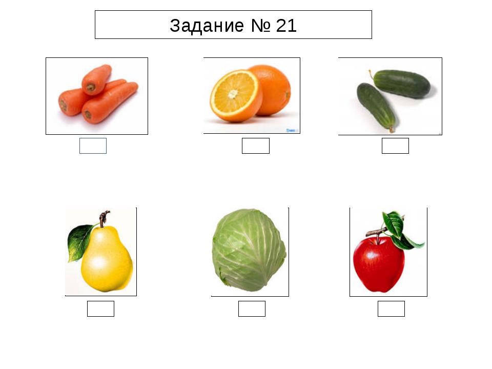 Задание № 21