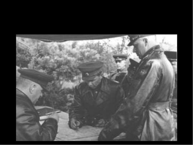 Руководство фронтов в Сталинградской битве
