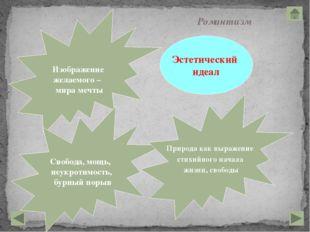 ЖАНРЫ Роман, повесть, роман в письмах, элегия, идиллия, романтическая поэма,