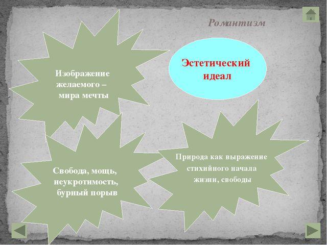 ЖАНРЫ Роман, повесть, роман в письмах, элегия, идиллия, романтическая поэма,...
