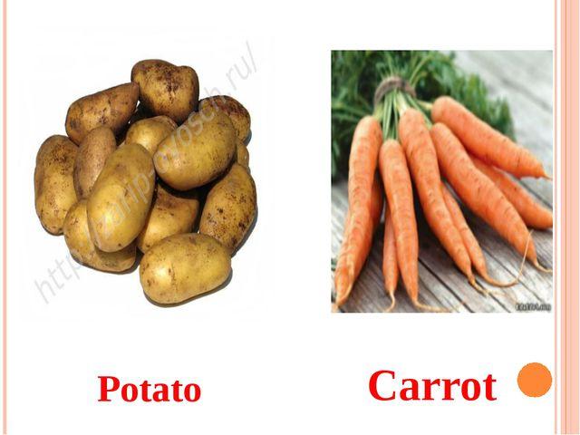 Potato Carrot