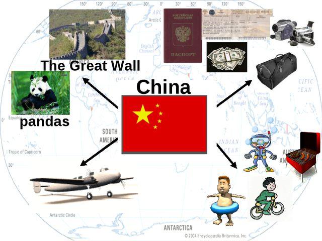 The Great Wall pandas China
