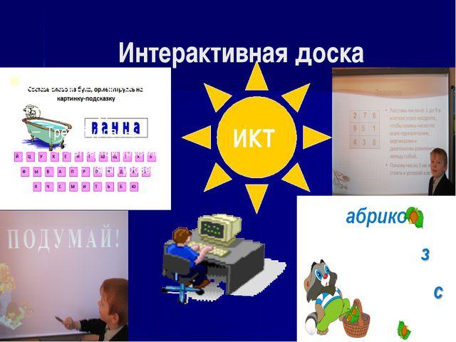 Интерактивная доска ИКТ