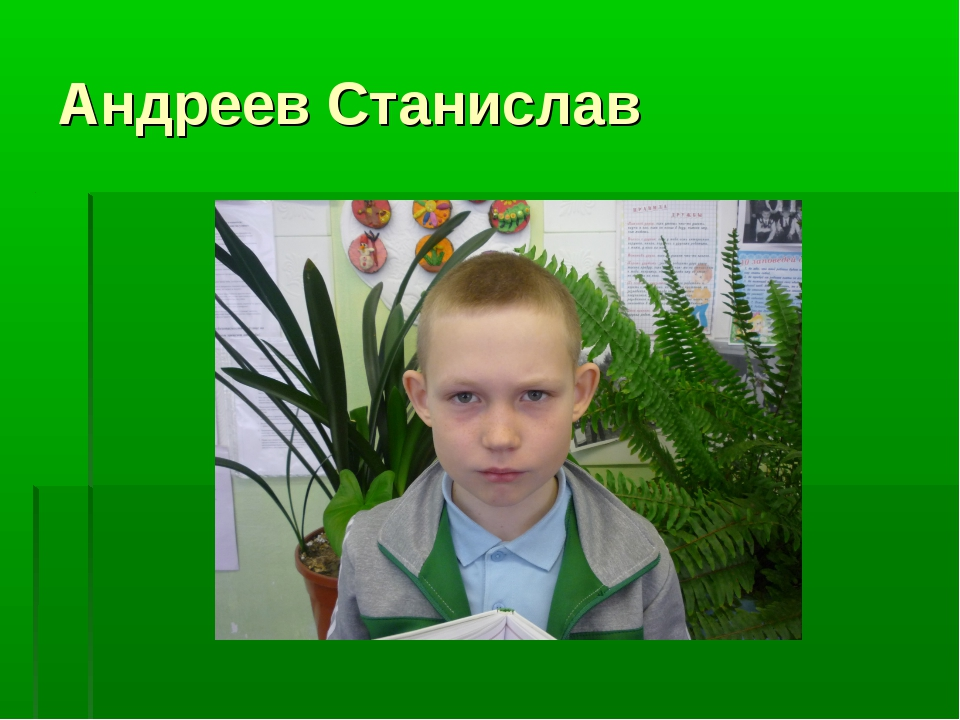 Андреев Станислав