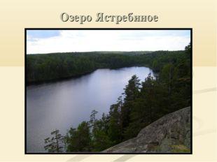 Озеро Ястребиное